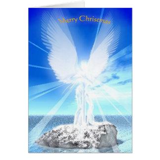 De Engel van Kerstmis Wenskaart