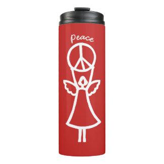 De engel van Vrede kiest Kleur Thermosbeker