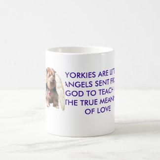 De Engel van Yorkie Koffiemok