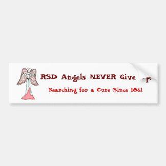 De Engelen RSD geven NOOIT op! Bumpersticker