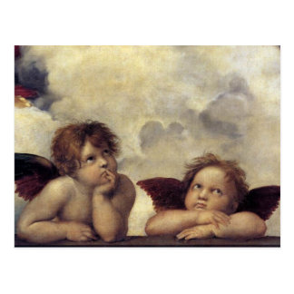 De Engelen van Raphael Briefkaart