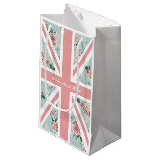 De Engelse BloemenPartij van Union Jack van Rozen Klein Cadeauzakje
