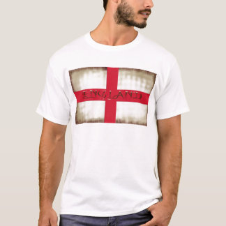 De Engelse Grunge Vlag van Engeland Heilige George T Shirt