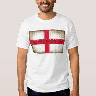 De Engelse Grunge Vlag van Engeland Heilige George Tshirt