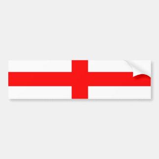 De Engelse sticker van de vlagbumper