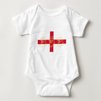 De Engelse Vlag Heilige George Cross Lions van T-shirts