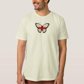 De Engelse Vlag van de Vlinder T Shirt