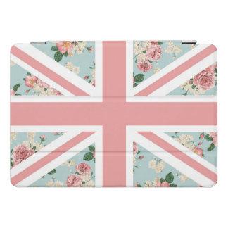 De Engelse Vlag van Union Jack van Rozen iPad Pro Hoesje