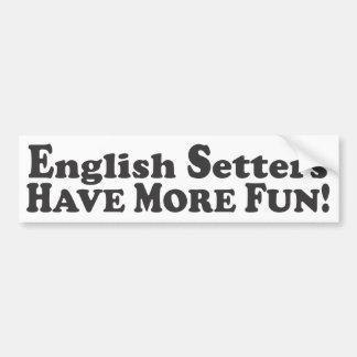 De Engelse Zetters hebben Meer Pret! - De Sticker
