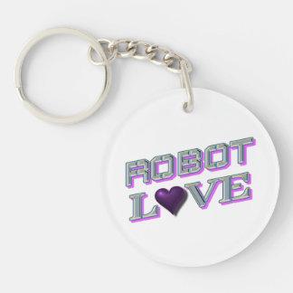 """(De enig-opgeruimde) Cirkel van de robot """"van de Sleutelhanger"""