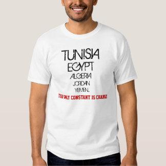 "De ""enige constante is verandering "" shirt"