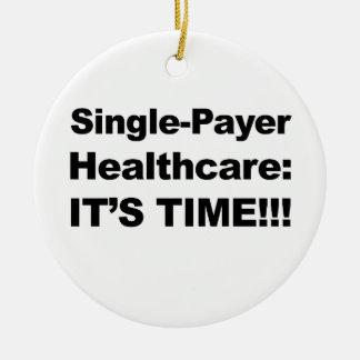 De enige Gezondheidszorg van de Betaler - het is Rond Keramisch Ornament