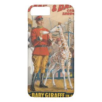De enige Giraf van het Baby in Amerika iPhone 8/7 Plus Hoesje