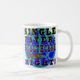 De enige mok van de betalerskoffie