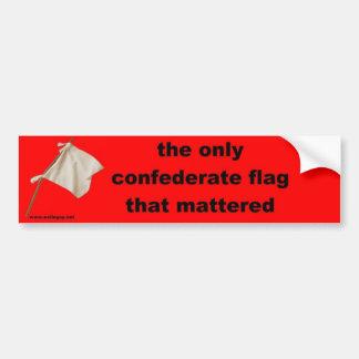 de enige verbonden vlag… bumpersticker