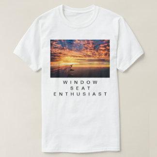 De Enthousiast van Seat van het venster T Shirt