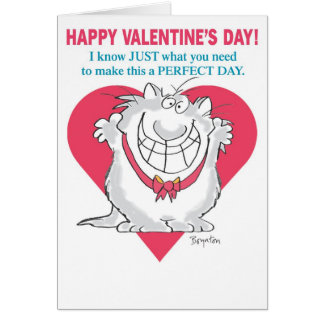 De ENTHOUSIASTE Valentijnskaarten van de KAT door Briefkaarten 0