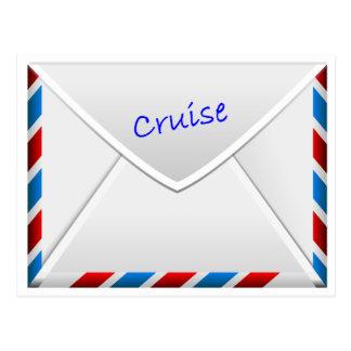 De Envelop van de cruise Briefkaart