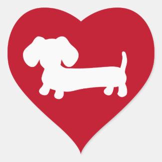 De Envelop van de Liefde van het Hart van de Hart Sticker