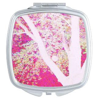 De Esdoorn van de lente: heet roze Make-up Spiegel