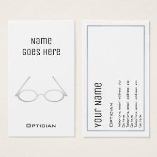"""De """"essentiële"""" Visitekaartjes van de Opticien"""