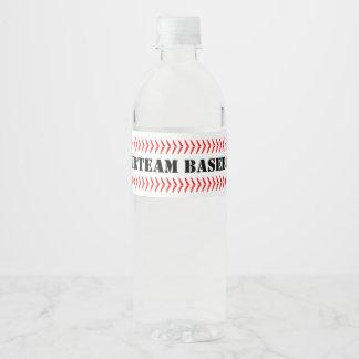 De Etiketten van de Fles van het Water van het