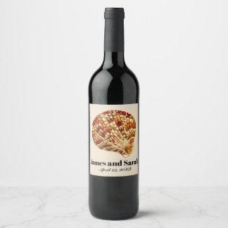 De Etiketten van de Wijn van het Huwelijk van het