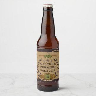 De Etiketten van het Bier van de Douane van het