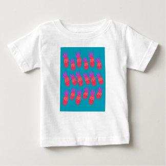 De etnische bioelementen van het ontwerp baby t shirts