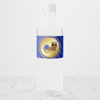De etnische Etiketten van de Fles van het Water