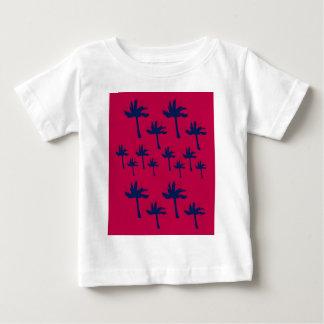 De etnische Palmen van het ontwerp Baby T Shirts