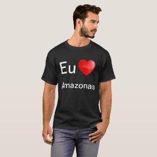 De EU amo Amazonas van Camiseta T Shirt