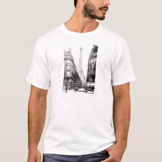 De EU amo Parijs van Por que - waarom ik van T Shirt