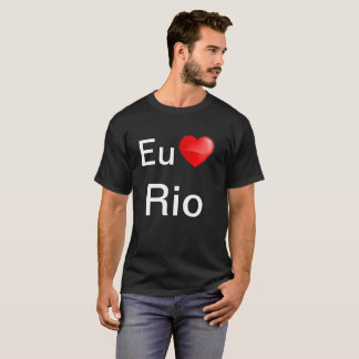 De EU amo Rio van Camiseta T Shirt