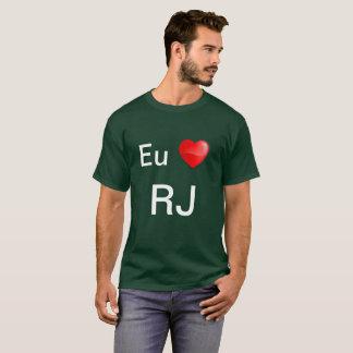 De EU amo RJ van Camiseta T Shirt