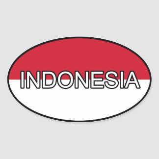De Euro Sticker van Indonesië