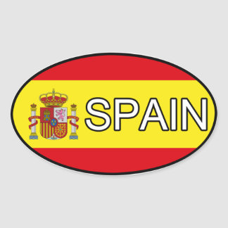 De Euro Sticker van Spanje