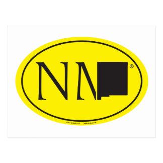 De Euro van de Trots van de staat: NM New Mexico Briefkaart