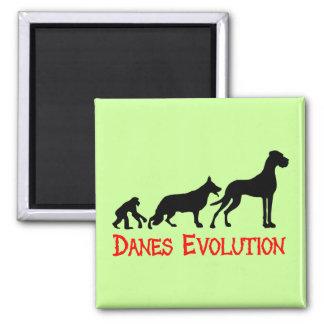 De Evolutie van Denen Magneet
