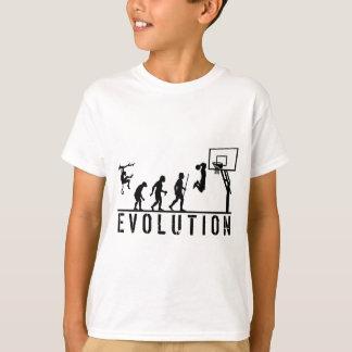 De Evolutie van het basketbal van Man T Shirt