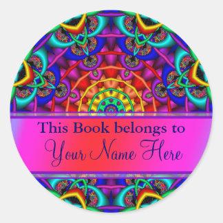 De ex Stickers van Libris Bookplate