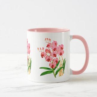 De exotische Roze Mok van de Orchidee