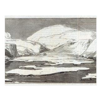 De expeditie van Arctica Briefkaart