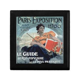 De Expositie 1902 van Parijs V.CHR. Decoratiedoosje