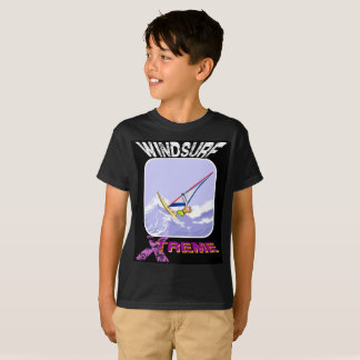 De Extreme Cartoon van Windsurfing T Shirt