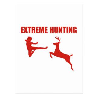De extreme Jacht Briefkaart