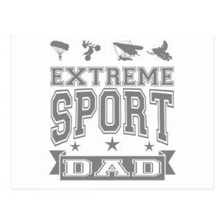 De extreme Papa van de Sport Briefkaart