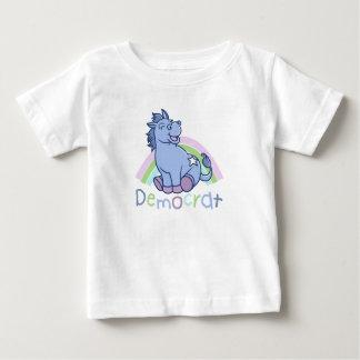De Ezel van de Democraat van het baby Baby T Shirts
