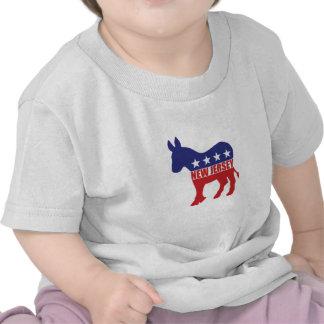De Ezel van de Democraat van New Jersey Tshirts