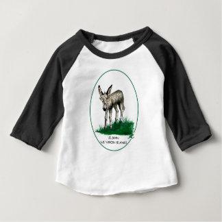 De Ezel van het baby Baby T Shirts